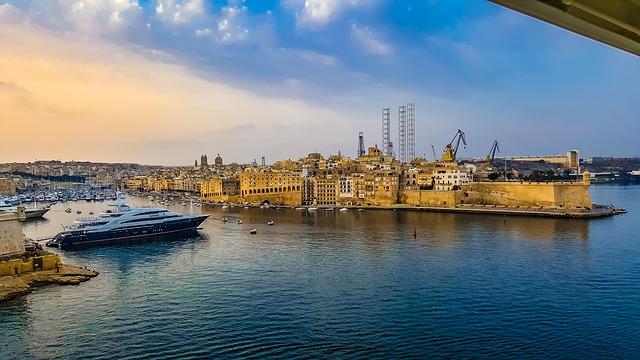 malta přístav